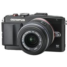 Olympus PEN E-PL6 + objektiv 14-42mm II R černá