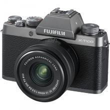 Fujifilm X-T100 strieborná  + XC 15-45mm f/3.5-5.6 OIS PZ