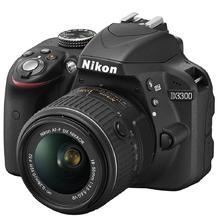 Nikon D3300 + 18-55 VR AF-P, čierná
