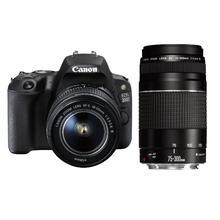 Canon EOS 200D + EF-S 18-55 DC III + EF 75-300 DC III