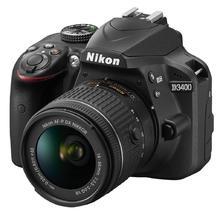 Nikon D3400 + 18-55 mm AF-P VR + 55-300 AF-S DX VR