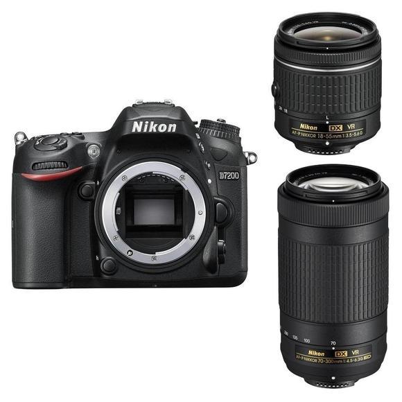 Nikon D7200 + 18-55 AF-P VR + 70-300mm AF-P DX VR  - 1