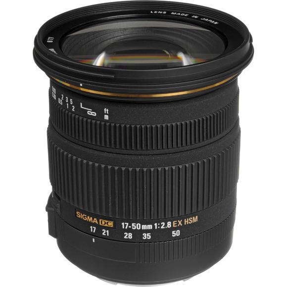 Sigma 17-50 mm f/2,8 EX DC OS HSM Nikon  - 1