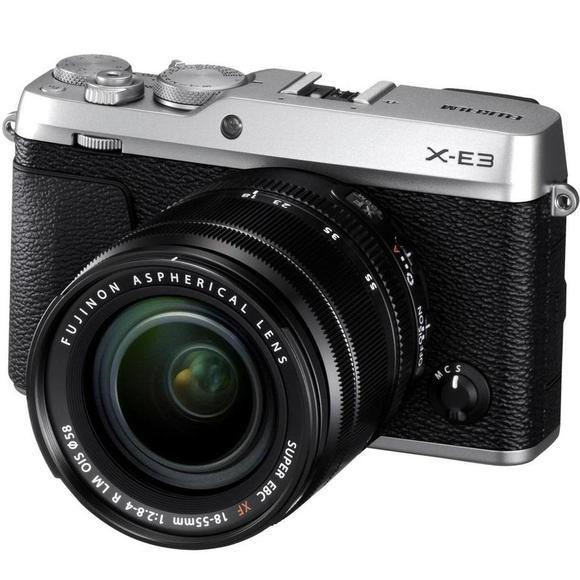 Fujifilm X-E3 + XF 18-55 strieborná  - 1