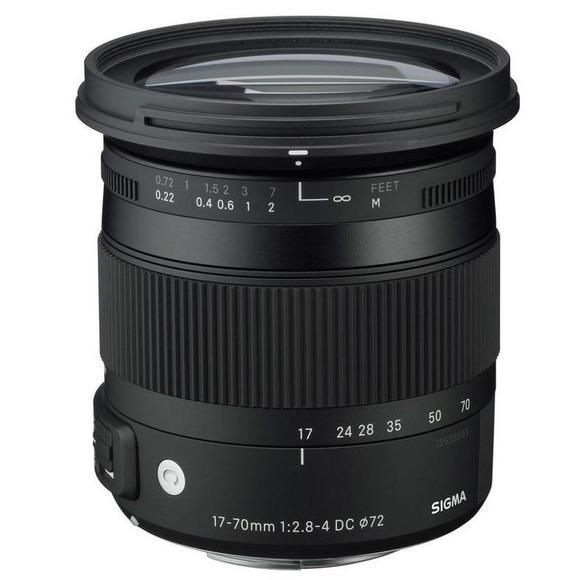 Sigma 17-70mm f/2,8-4 DC Macro OS HSM Nikon  - 1