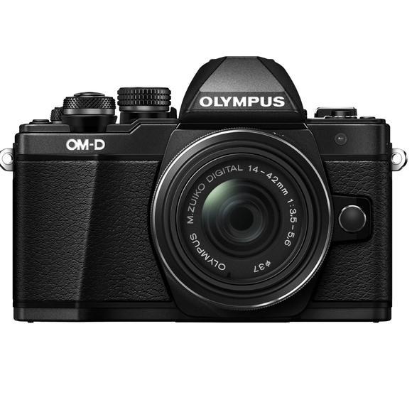 Olympus E-M10 Mark II + 14-42mm, čierna  - 1