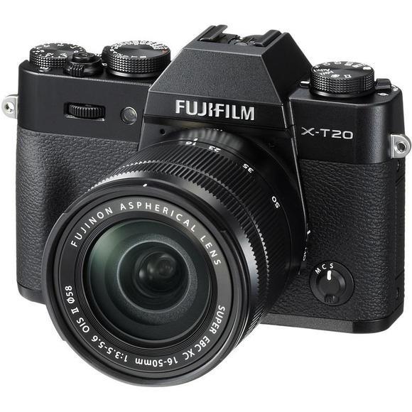 Fujifilm X-T20 čierna + 16-50 mm II  - 1