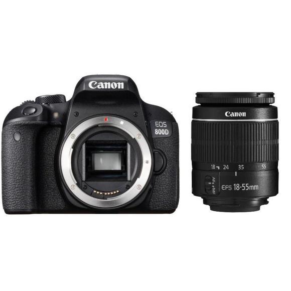 Canon EOS 800D + EF-S 18-55 DC III  - 1